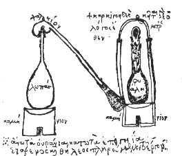 Rancangan Alembic Jabir Ibn Hayyan